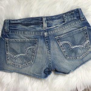 BIG STAR • Sweet Ultra Low Rise Denim Jean Shorts